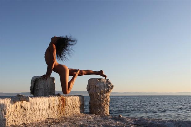 Primal Artistic Nude Photo print by Photographer David Winge