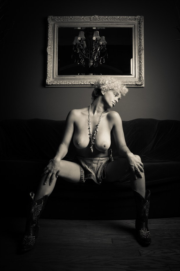 Prowler Artistic Nude Photo print by Photographer Frisson Art