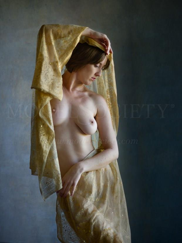 Pure gold Artistic Nude Photo print by Photographer Bill Irwin
