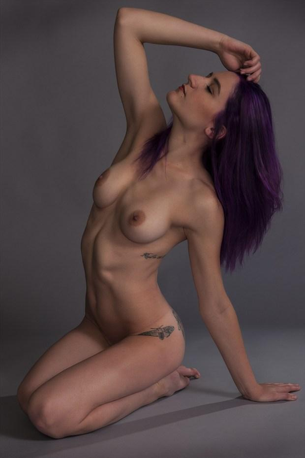 Purple Coloration Artistic Nude Photo print by Photographer Tommy 2's
