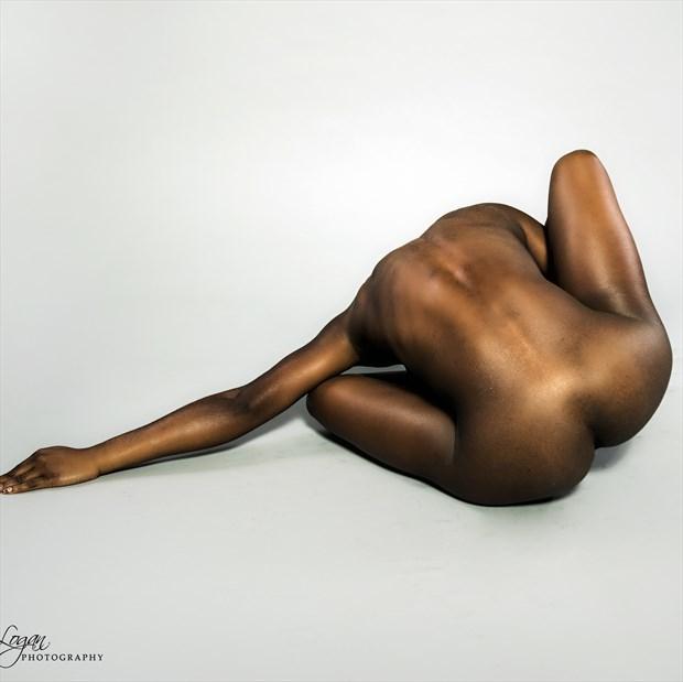 Reaching Artistic Nude Photo print by Photographer John Logan