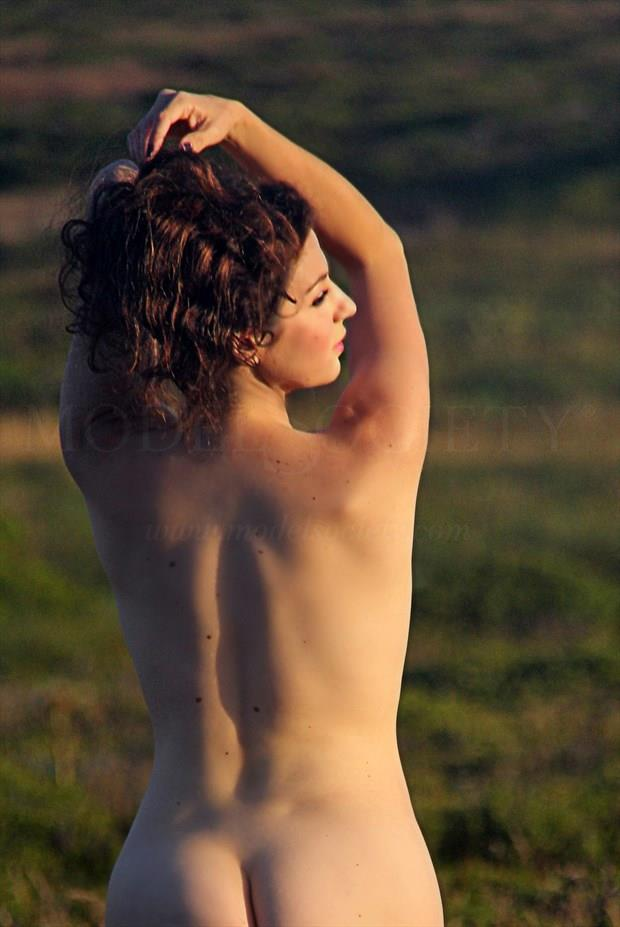 Rear View Artistic Nude Photo print by Artist AnneDeLion