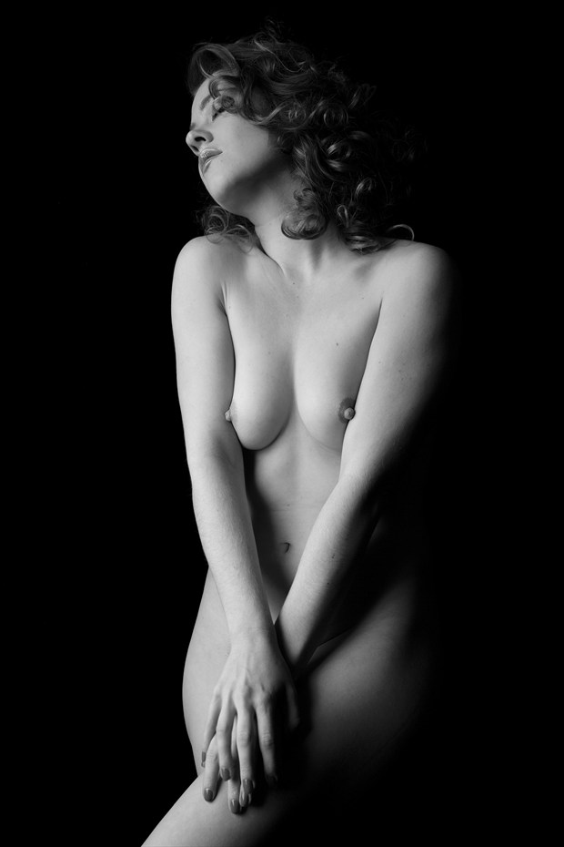 Rebecca Lawrence %235 Artistic Nude Photo print by Photographer Z Inner Eye
