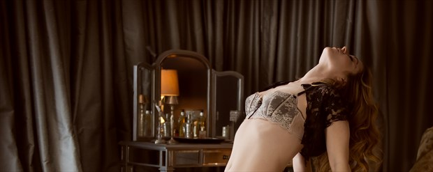 Rebecca Lawrence Lingerie Photo print by Photographer Black Wings