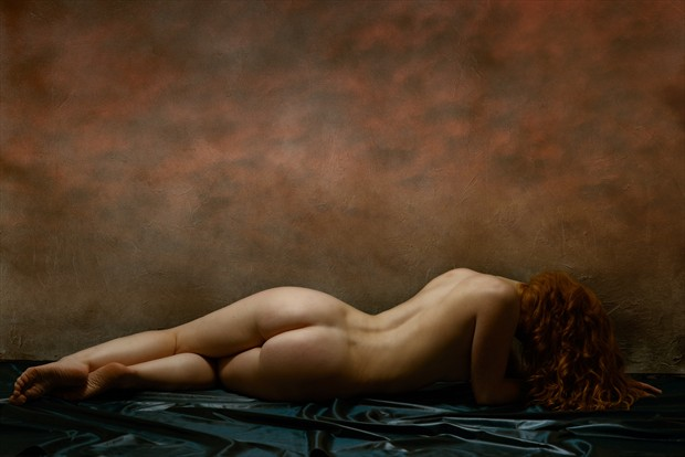Reclining Nude Artistic Nude Photo print by Photographer Ray Kirby