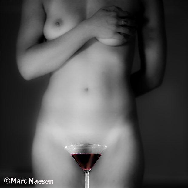 Red Wine Surreal Photo print by Photographer Marc Naesen