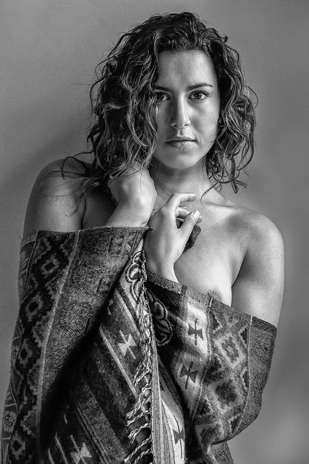 Reece, mono Artistic Nude Photo print by Photographer rick jolson