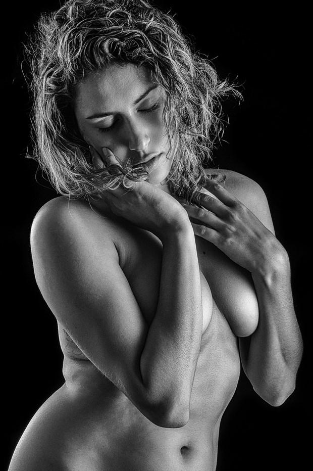 Reece Artistic Nude Photo print by Photographer rick jolson