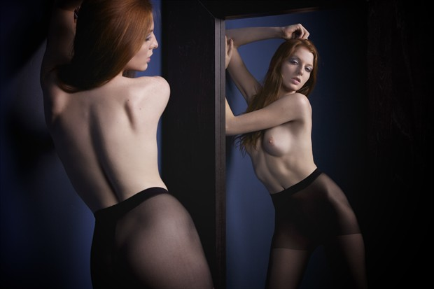 Reflection Artistic Nude Photo print by Photographer Adam Patrick Murray