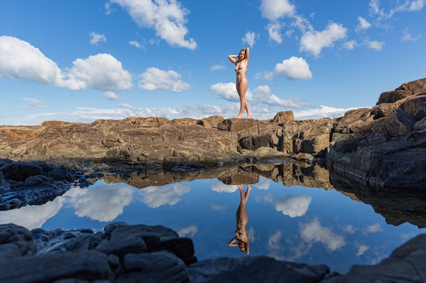 Reflection Artistic Nude Photo print by Photographer Stephen Wong