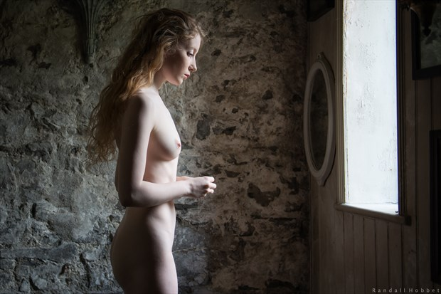 Reflective Artistic Nude Photo print by Photographer Randall Hobbet