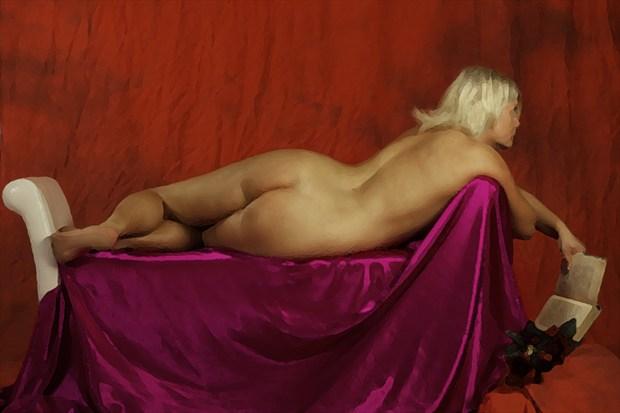 Relaxed Artistic Nude Photo print by Photographer TarmoSiirak