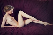 Relaxing On the Day Bed Artistic Nude Photo print by Photographer MaxOperandi