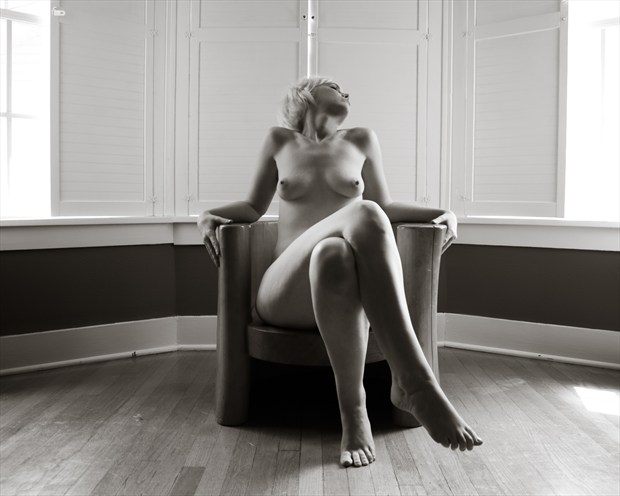 Replicant Artistic Nude Photo print by Photographer Frisson Art