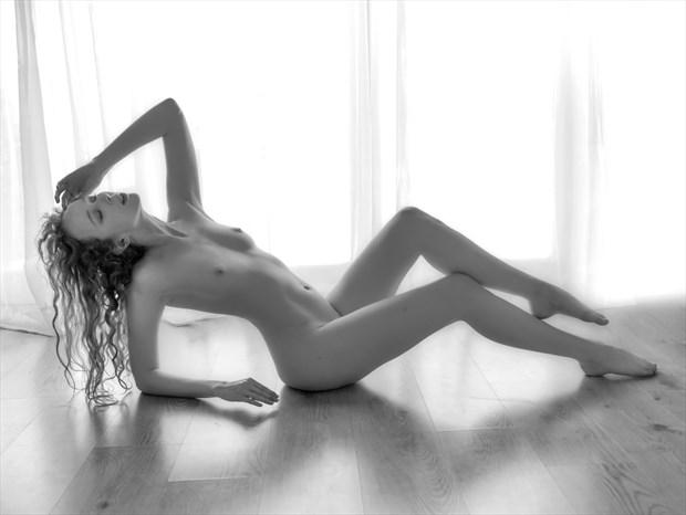 Repose 2 Artistic Nude Photo print by Photographer John Logan