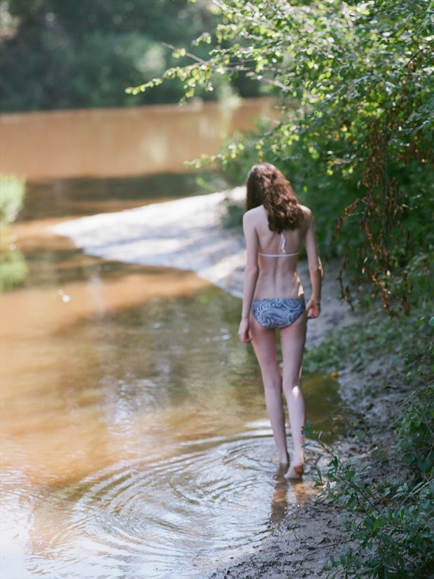 River Willow 3 Lingerie Photo print by Photographer Leland Ray