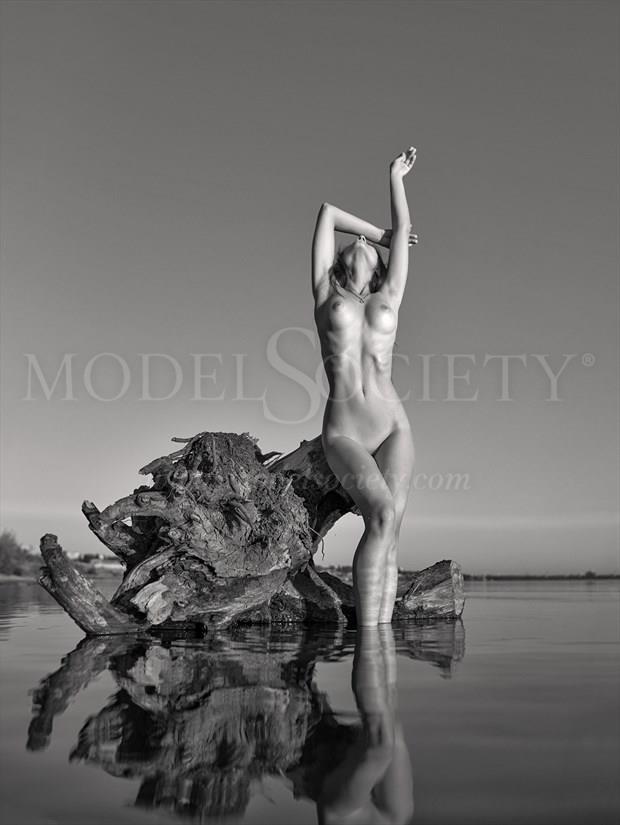 Riverside Artistic Nude Artwork print by Photographer Andrey Stanko