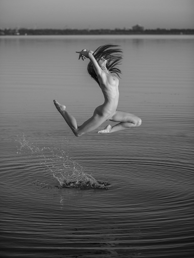 Riverside Artistic Nude Photo print by Photographer Andrey Stanko