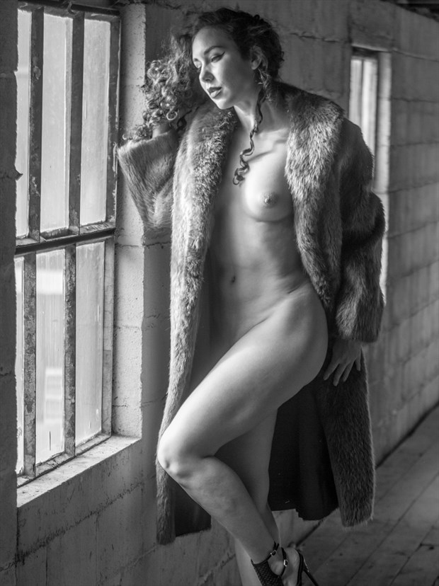 RoseDC in B&W Artistic Nude Photo print by Photographer ShenValley Imagery
