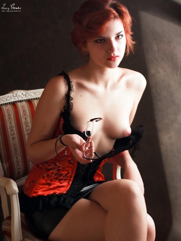 S. P. Glamour Photo print by Photographer Luigi Prearo