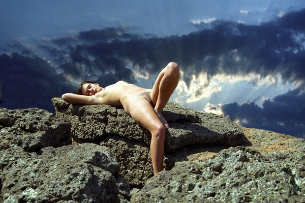 Sacrificial Virgin %23  06 Artistic Nude Photo print by Photographer Gene Newell