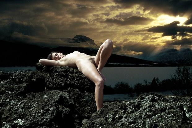 Sacrificial Virgin %23  07 Artistic Nude Photo print by Photographer Gene Newell