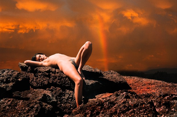 Sacrificial Virgin %23  09 Artistic Nude Photo print by Photographer Gene Newell