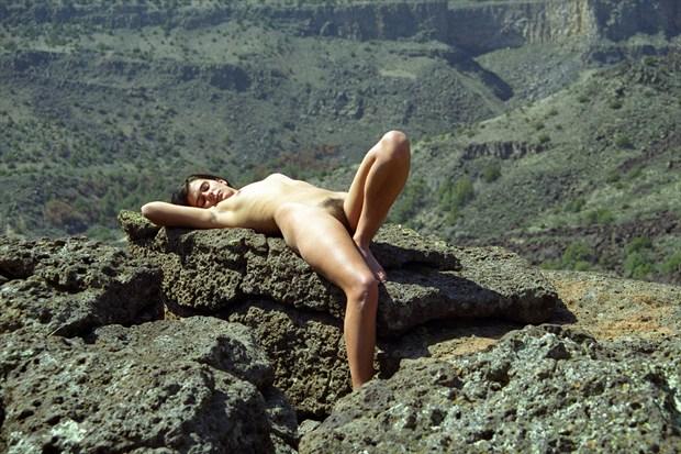 Sacrificial Virgin %23  13 Artistic Nude Photo print by Photographer Gene Newell