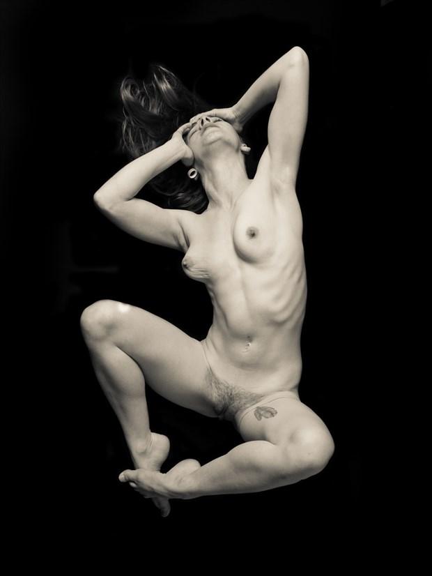 Sasha Chronic Pain 4 Artistic Nude Photo print by Artist Freddie Graves