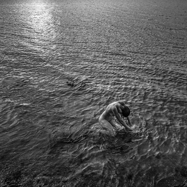 Seaside Artistic Nude Artwork print by Photographer Andrey Stanko