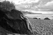 Secret Beach Artistic Nude Artwork print by Photographer Thom Peters Photog