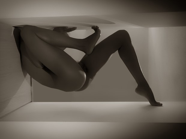 Secret Language Artistic Nude Photo print by Artist Kevin Stiles