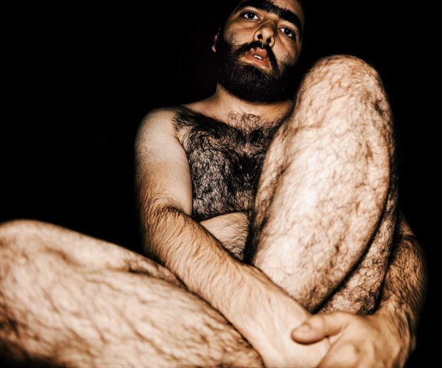 Self Artistic Nude Photo print by Photographer kunstmann
