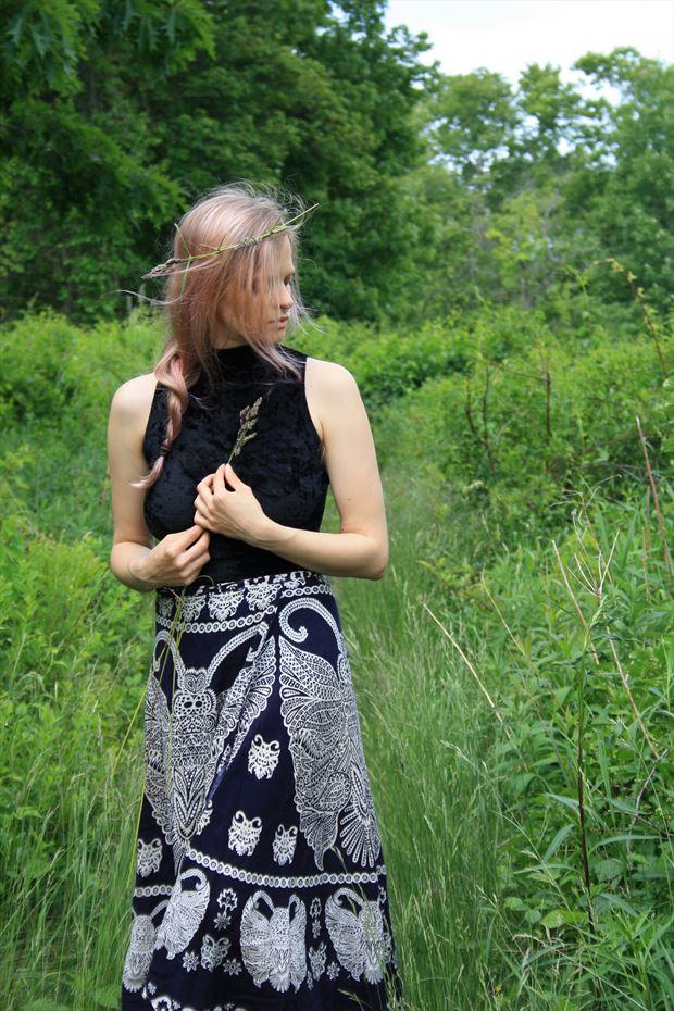 Self Portrait 036 Nature Photo print by Model Ursa Minor