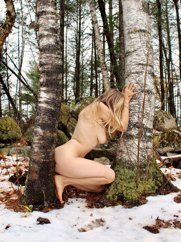 Self Portrait 054 Artistic Nude Photo print by Model Ursa Minor