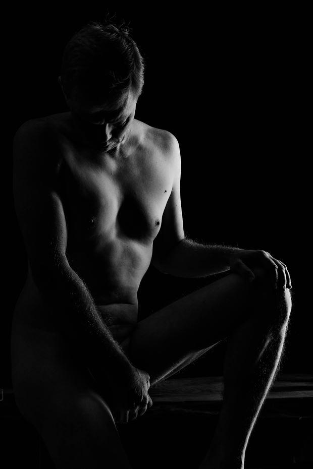 Self Portrait Artistic Nude Photo print by Photographer rdp