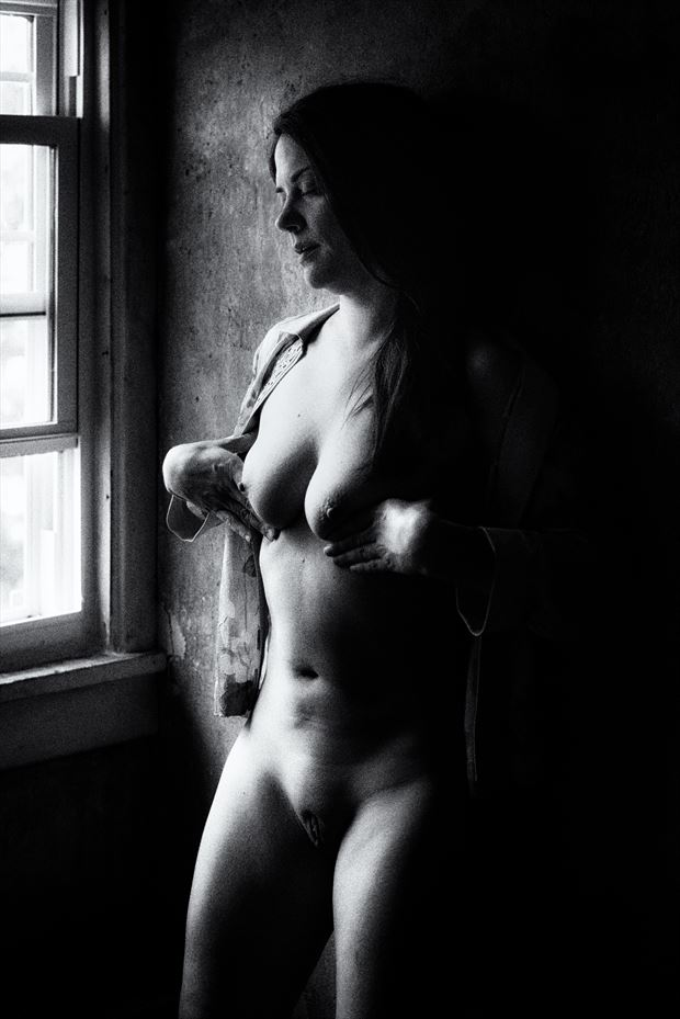 Sensing  Erotic Photo print by Model JessicaKlaus