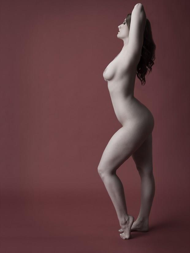 Shades of red Artistic Nude Photo print by Photographer Tommy 2's