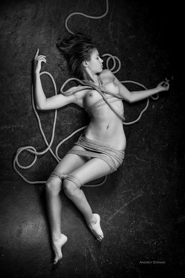 Shibari Artistic Nude Photo print by Photographer Andrey Stanko