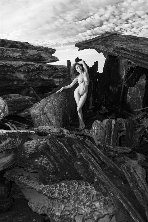 Shipwrecked Maiden Artistic Nude Photo print by Photographer Stephen Wong
