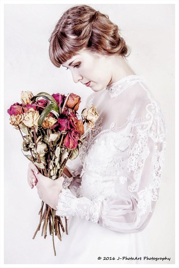 Sienna Hayes Vintage Style Photo print by Photographer J Photoart