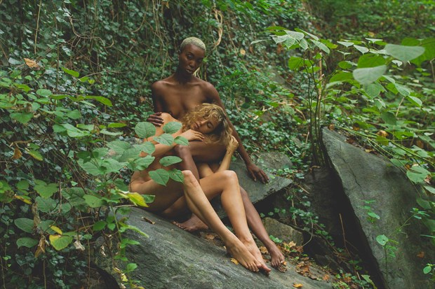 Sisters of Soul Artistic Nude Photo print by Model Reece de la Tierra
