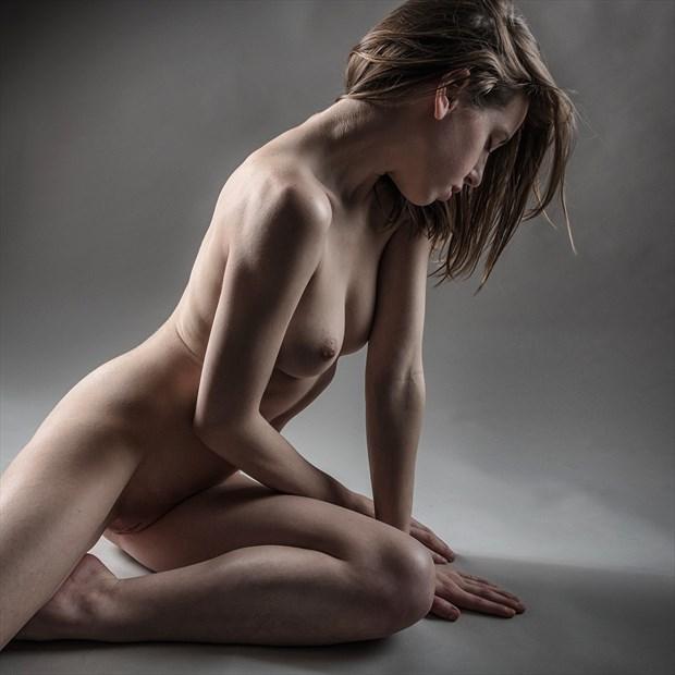 Sitting Proud Artistic Nude Photo print by Photographer rick jolson