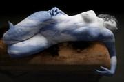 Sky Artistic Nude Photo print by Artist David Bollt