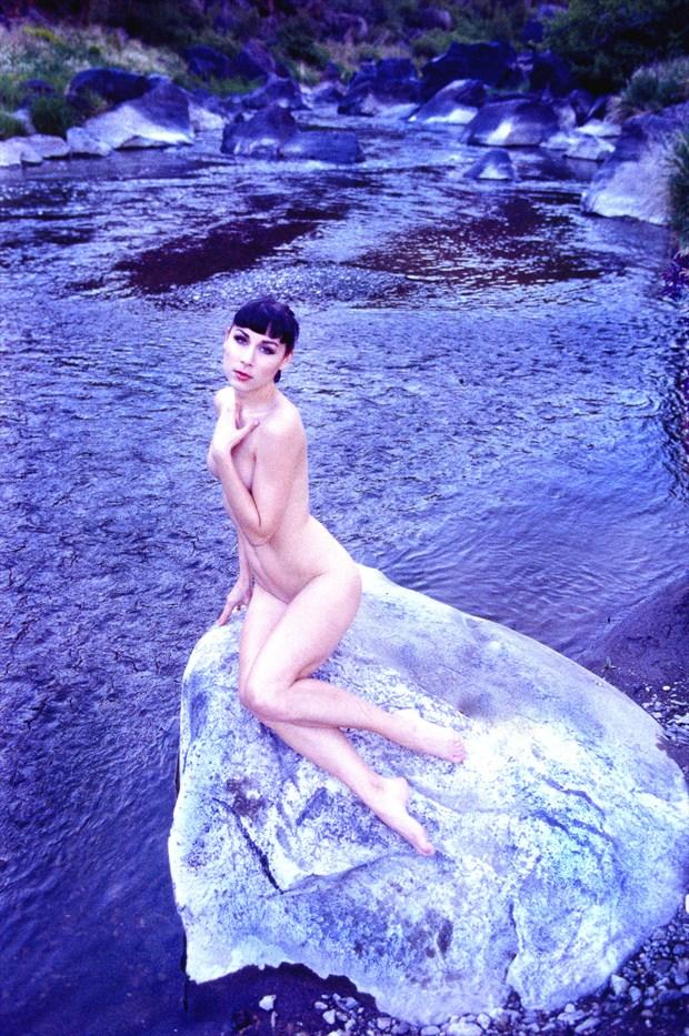 Smith Rock figure session Artistic Nude Photo print by Photographer Joe Klune Fine Art