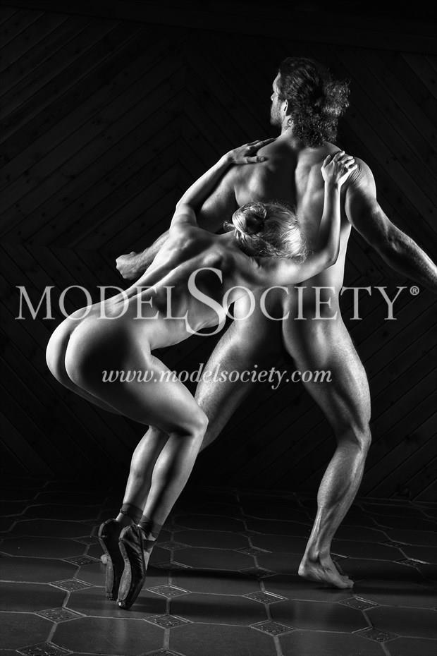 Snagging Zeus Artistic Nude Photo print by Photographer Carl Grim