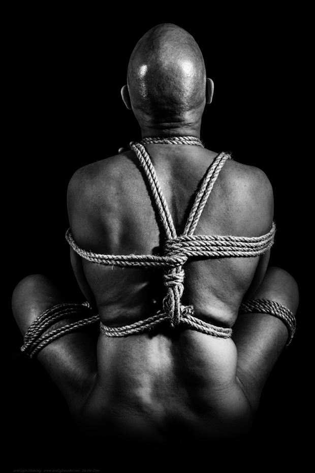 So Bound Is My Lightness Artistic Nude Photo print by Model Avid Light