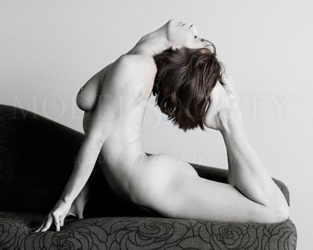 Soft strength Artistic Nude Photo print by Photographer Bill Irwin