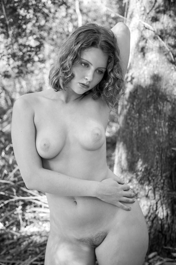 Solace Artistic Nude Photo print by Photographer Risen Phoenix