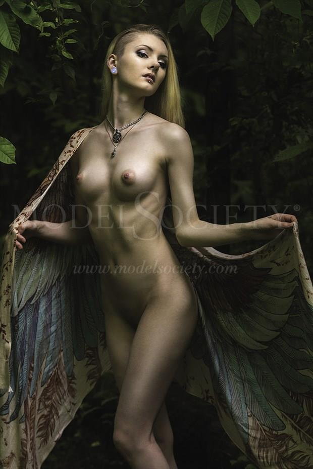 Spreading My Wings Artistic Nude Photo print by Photographer ResolutionOneImaging